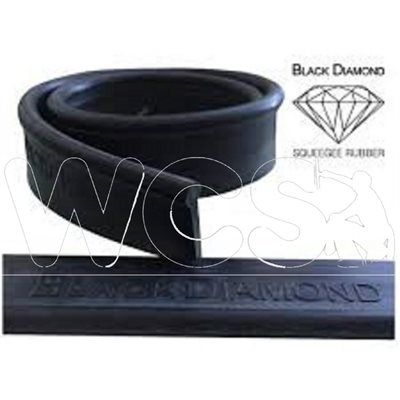 Black diamond rubber 40 cm / 16 in